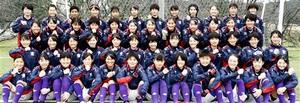 上位進出を目指すサッカー女子福井工大福井=福井県あわら市の福井工大あわらキャンパスグラウンド