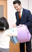敦賀の施設児童にランドセルを寄贈 越前市の山耕