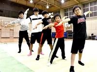 新体操 科技ジュニアクラブ(福井) かっこいい技楽しく ハツラツキッズ