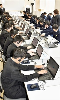 中3に英語 4技能測る 全国学テ 県内小中1万4200人