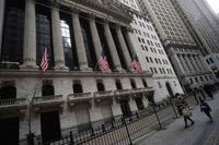 NY株最高値、164ドル高