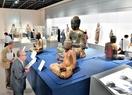 白山の信仰歴史に触れる仏像展示