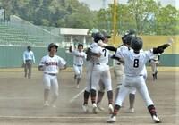 写真特集、春の県高校野球第1日