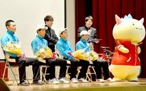 科技高で福井国体入賞の喜び報告