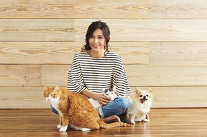 動物保護活動を続ける杉本彩さん。きっかけは約28年前に保護した子猫でした