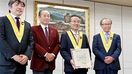 知事、名誉ソムリエに 日本協会授与 「飲む、造…