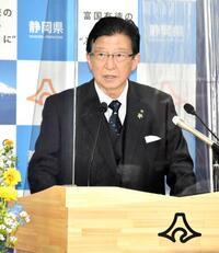 静岡・川勝知事、4選へ出馬表明