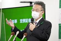 北陸新幹線、建設促進同盟会の会長職に福井県の杉本達治知事「前向き」