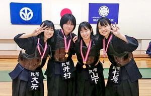 「剣道で娘と一緒に成長できた」