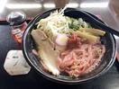ほどよい酸味、福井梅入りラーメン