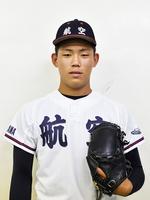 日本航空石川の田中颯希投手