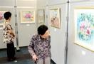 【作品展】和紙ちぎり絵愛好会の作品展