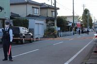 福井市の未明の強盗事件、男の身柄確保 10月7日午前、現場付近で署員が発見