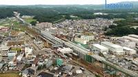 北陸新幹線、福井県内区間4K空撮