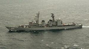 海上自衛隊の護衛艦「はまぎり」