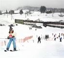 冬以外も滑走OK 六呂師スキーパーク人工ゲレンデ…