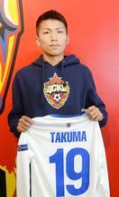 西村、サッカー代表へ活躍誓う