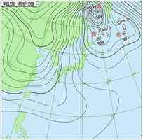 天気図(1月26日正午)=気象庁HPより