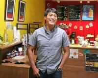 「スクランブル」IT起業家が営むカフェ