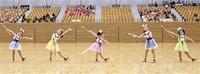 華麗な演技観客魅了 県マーチング・バトンフェス 福井園児から高校生400人