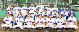 第101回全国高校野球選手権福井大会に出場する羽水