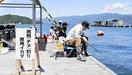 敦賀湾の筏釣り「やめられない」