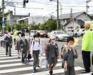 学校再開 安全に通学を 交安協など 各地で街頭…