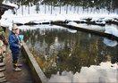 渓流釣り支えてきた養魚場が廃業