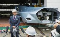 次世代新幹線の試験車公開