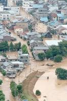 足羽川が決壊、福井豪雨から15年