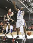 バスケ日本3連敗、B組最下位に