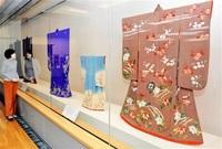 和洋折衷 着物美しく 江戸~近代染料や意匠 変遷紹介 市郷土歴博 振り袖、帯留め32点
