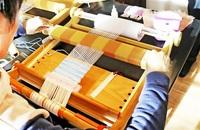 古民家雰囲気感じ機織りを楽しもう 越前町・古窯博 23、24日