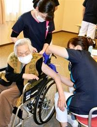 新型コロナワクチン 嶺南でも高齢者接種 敦賀の施設「一歩進めた」