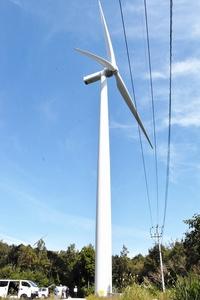 風力発電所機器から煙、稼働停止