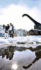 氷河期終わった?恐竜久々の日光浴
