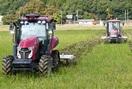 無人トラクターで耕起 小浜 スマート農業を実証