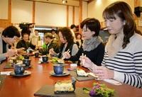 東郷の食材仏料理に 活性化催し、地区出身シェフ調理 福井