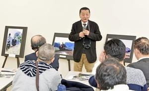 鉄道写真 南正時さん新幹線愛語る