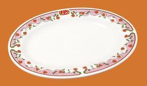 王将フードサービスがキャンペーンで配る「餃子のお皿」