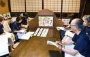 芭蕉 今庄の3句 紙芝居に 「旅籠塾の会(南越前…
