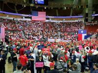 米大統領、テキサス死守へ大集会