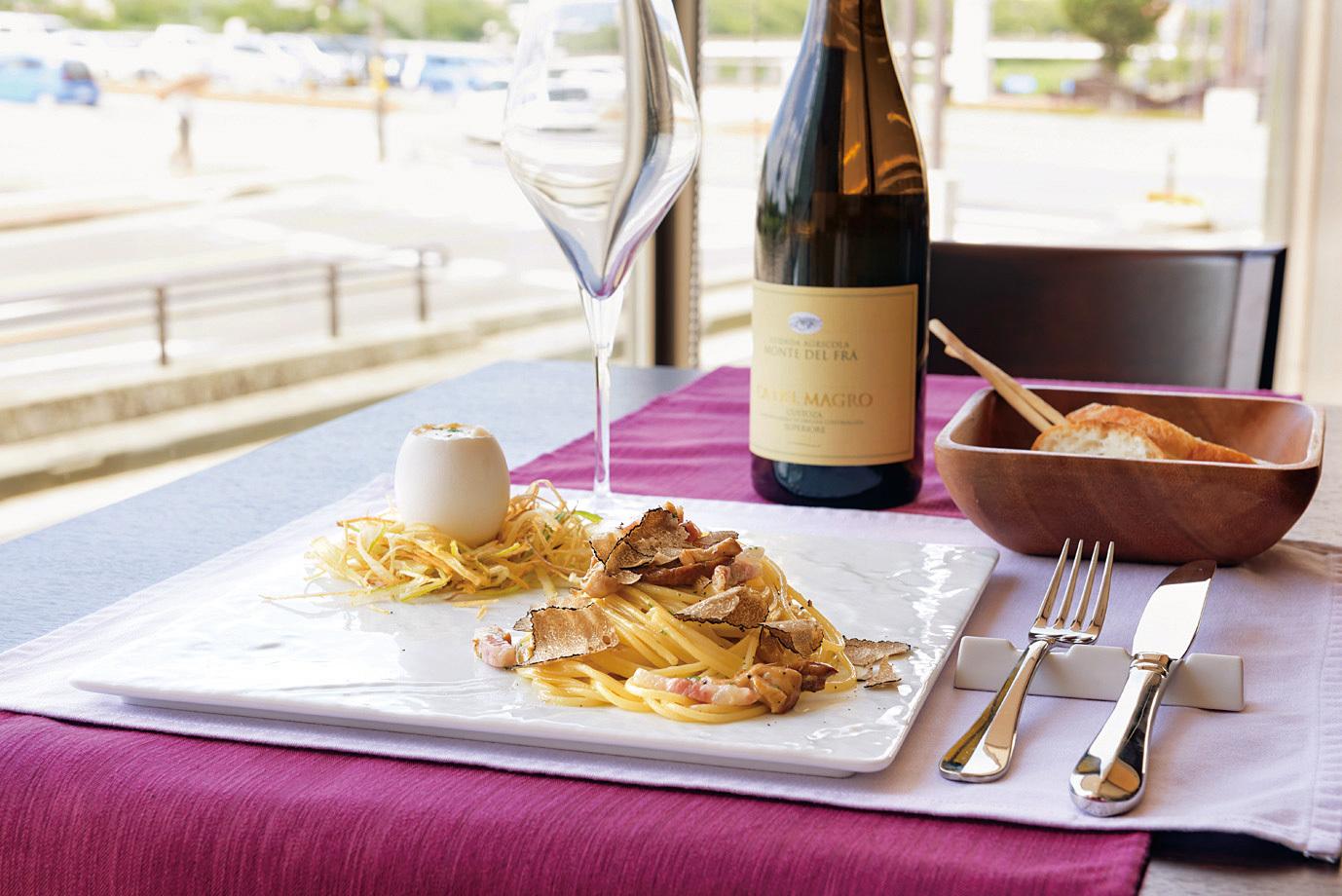 料理、ワイン、チーズまでイタリアの風が吹くレストラン