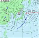 福井18日は雪予報、平地も10cm