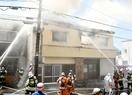 福井で住宅全焼1人死亡、夫か