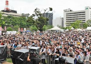 2019年7月に福井県の福井市中央公園で初開催され、1万人を動員したワンパークフェスティバル