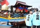 宝船準備OK いざ七年祭 小浜・西津で来月 引き…