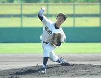 福井高専エースが力投、三国破る