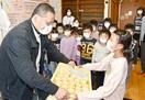 酪農家応援プリン 勝山の児童に贈る 福井の洋菓…