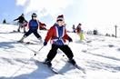 サンタクロース大集合、スキー滑走